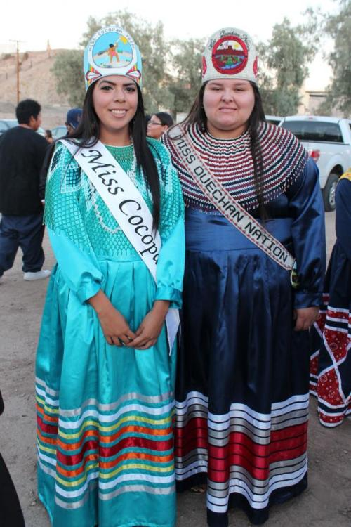 Salazar And Burney Represent Cocopah At Quechan Indian