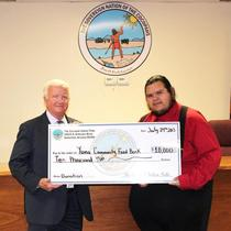 Yuma Community Food Bank Donation 2013