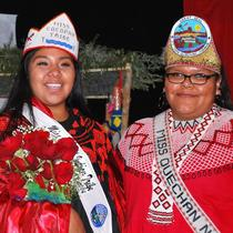 Miss Cocopah Tribe 2012-2014 and Miss Quechan Nation 2011-2012