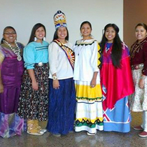 Miss Indian Arizona contestants